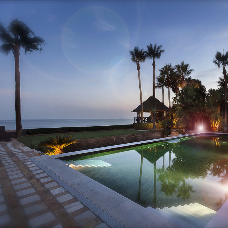 Davinia Taylor Los Monteros Villa renovation November 2014